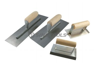 Trowel with Wooden Handle Set