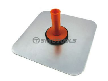 Cement Plate with Plastic Handle