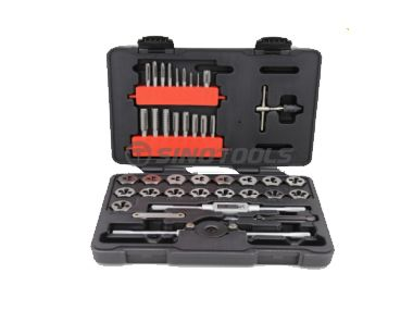 39Pc Tap And Die Set