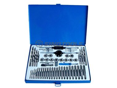 52 pcs tap and die & drill combination set