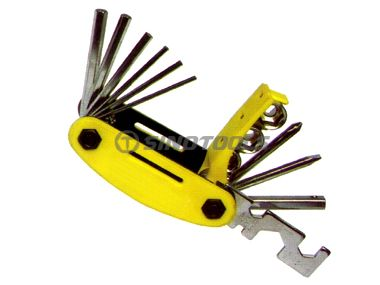 14Pc Hex Key Set