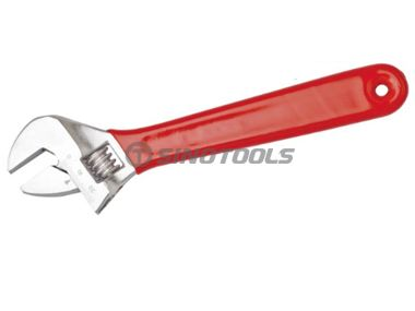 Adjustable Wrench with Smooth Surface Dipping Handle
