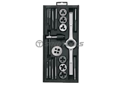 19Pc Tap And Die Set