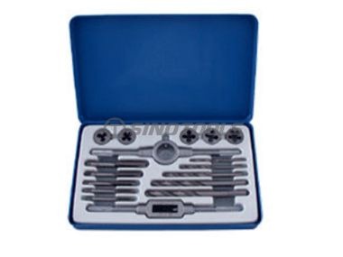 17Pc Tap And Die Set