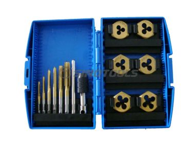 13Pc Tap And Die Set