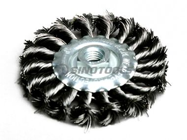 Twist Knot Circular Brush with Nut