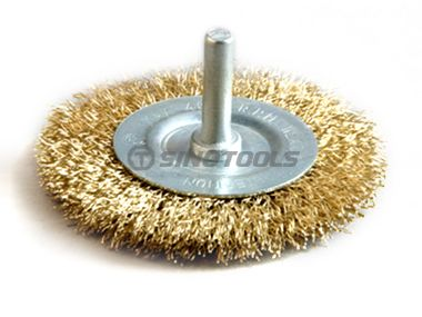 Shaft Wheel Brush