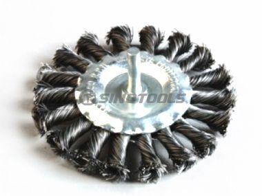 Shaft Knot Wheel Brush
