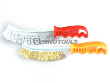 Scratch Brush Plastic Handle