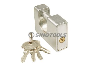 Chrome Plated Armoured Steel Padlock