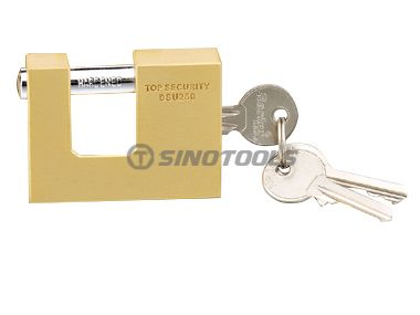 Brass Rectangular Padlock