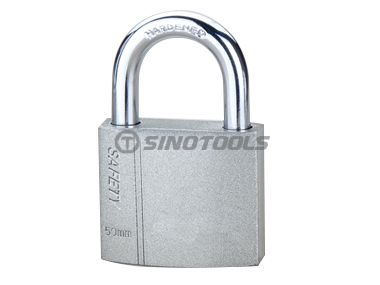 Shiny Spray-Paint Iron Padlock