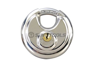Stainless Steel Discus Padlock