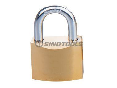 Gold Plated Disc Padlock