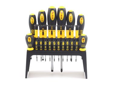 18Pc Screwdriver Set