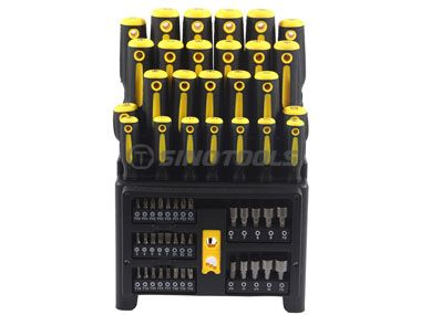61Pc Screwdriver Set