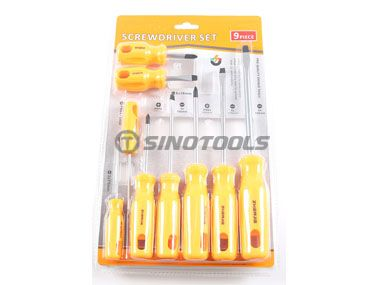 9Pc Screwdriver Set
