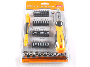 39Pc Screwdriver Set