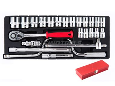 24Pc Sockets Wrench Set