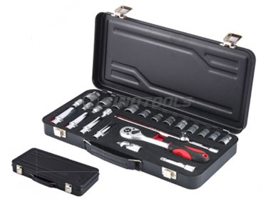 25Pc Sockets Wrench Set