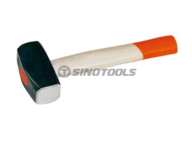 British Type Stoning Hammer With Bleaching Handle