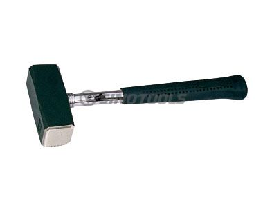 German Type Stoning Hammer With Steel Handle