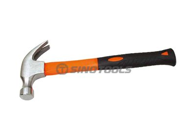 American Type Claw Hammer With Double Color Plastic-Coating Handle