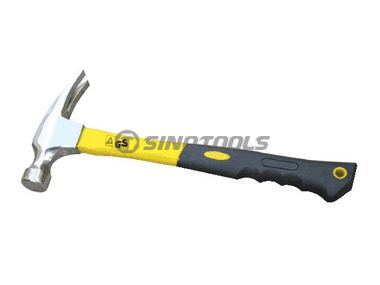 Right Angle American Type Claw Hammer With TPR Plastic-Coating Handle
