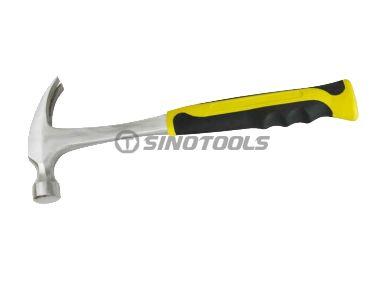 One piece straight claw hammer