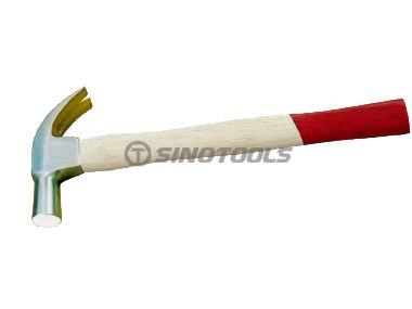 British Type Claw Hammer With Bleaching Handle