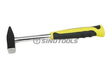 Machinist Hammer, Double Color Sleeve Steel Tubular Handle