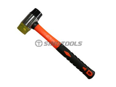 Two-way hammer with pack handle