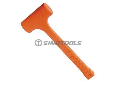Fluorescence Dead Blow Rubber Hammer