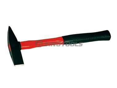 British Type Chipping Hammer With Fibreglass Handle