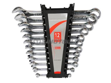 12Pc Double Open End Wrench Set