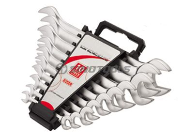 10Pc Double Open End Wrench Set
