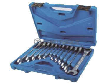 12Pc Ratchet Combination Wrench Set