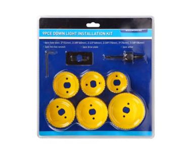 9Pc Down Light Installation Kit