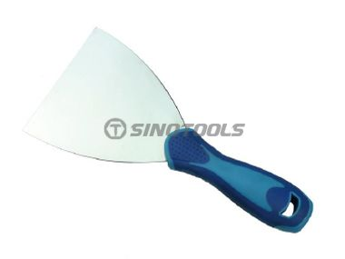 Putty Knife with Rubber Handle