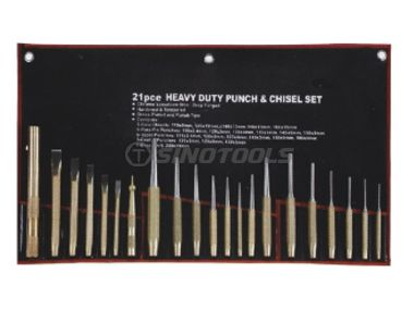 21Pcs Punch & Chisel Set
