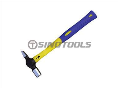 Cross Pein Hammer With Double Color Plastic-Coating Handle