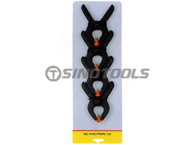 4Pc Spring Clamp Set