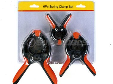 6Pc Spring Clamp Set