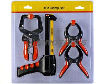 4Pc Clamp Set