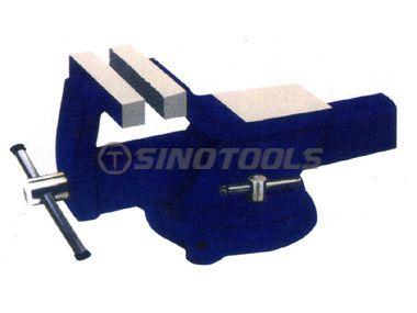 All Steel Bench Vise Swivel W/Anvil