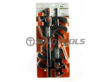 4Pc Bar Clamp Set