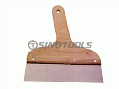 Scraper with Seven-Plywood Handle