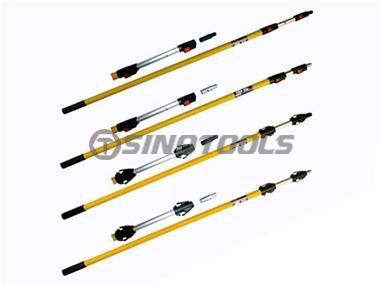 Step Lock Poles with Switchable Tips