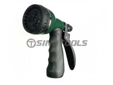 7-Pattern Zinc Turret Pistol Nozzle