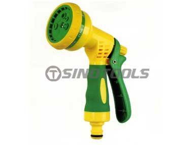 7-Pattern Turret Pistol Nozzle